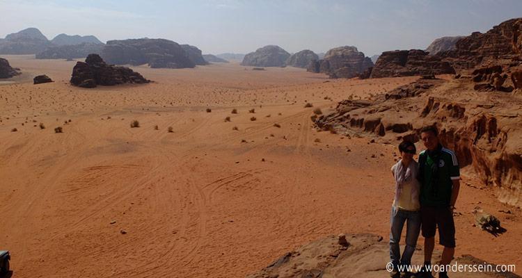 Wadi Rum in Jordanien. Foto: Oliver von Woanderssein