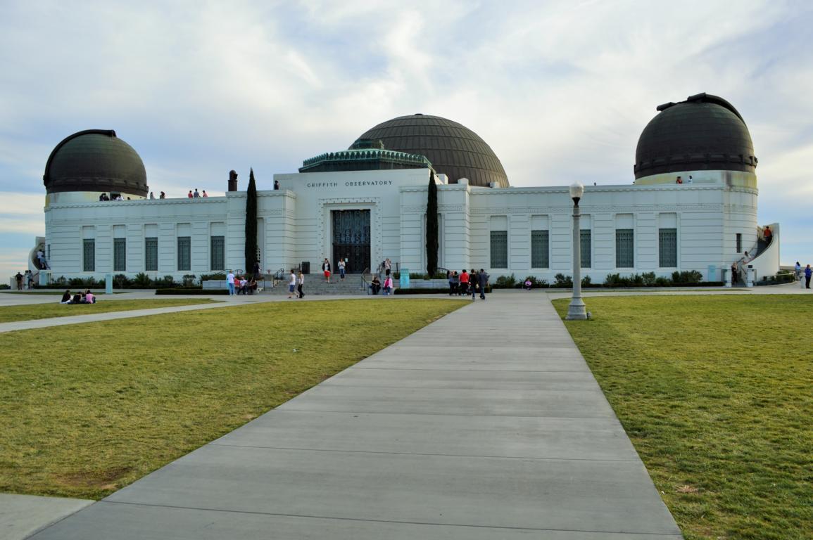 Das Griffith Observatorium in Los Angeles.