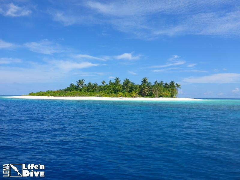 Hallo Paradies! Hier lebt Lena auf den Malediven.