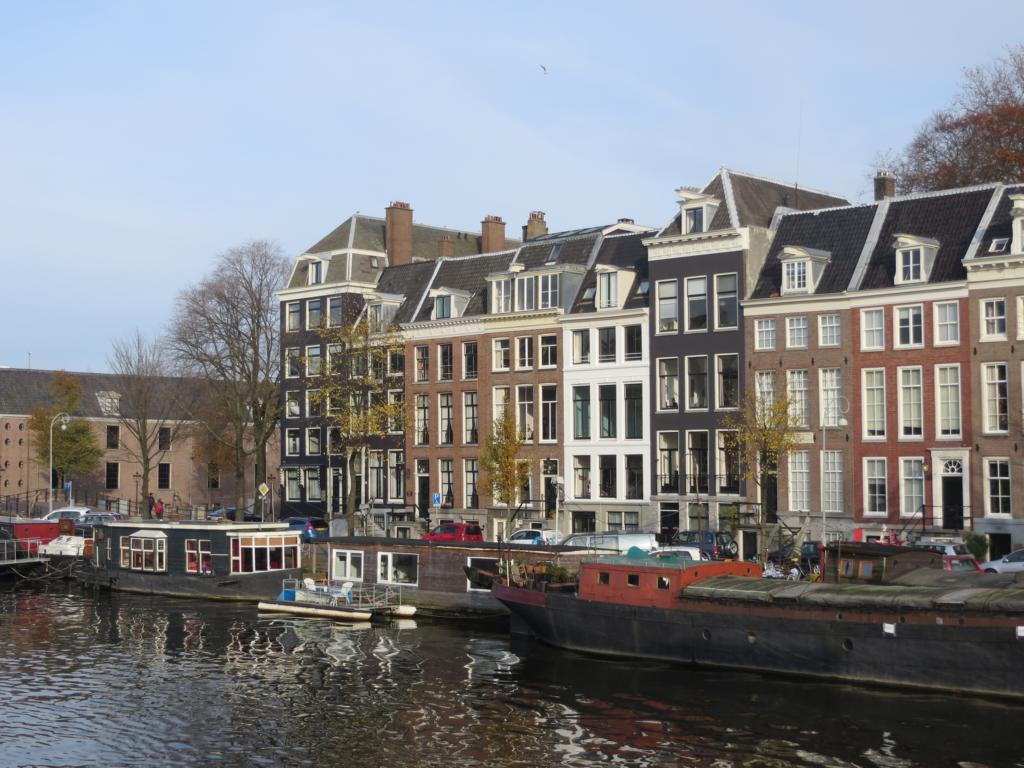 Spannende Architektur in Amsterdam.