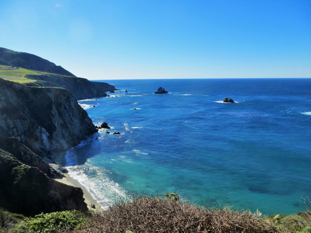 Der Highway 1 in Kalifornien: Wunderschön.