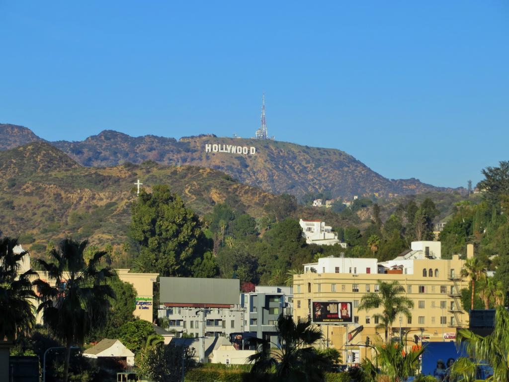Hollywood - Damit du auch nie vergisst, wo du gerde bist.