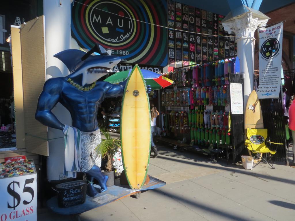 Typisch Venice Beach.