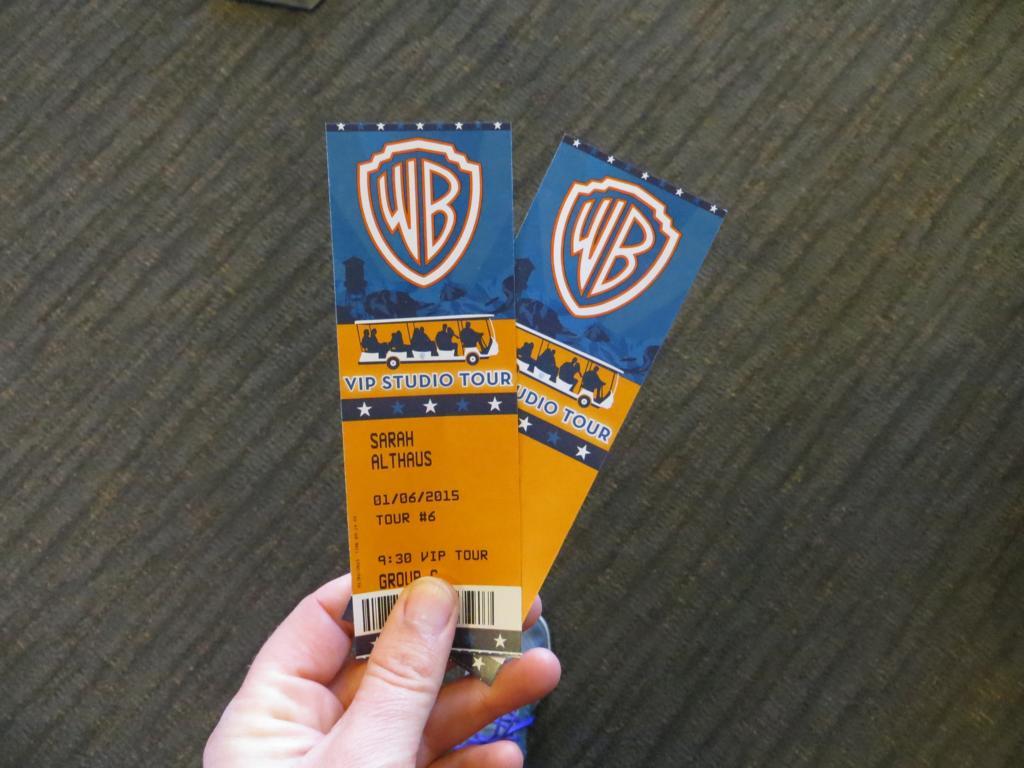 Tickets für die Studiotour von Warner Bros. sind ganz einfach Online zu reservieren.