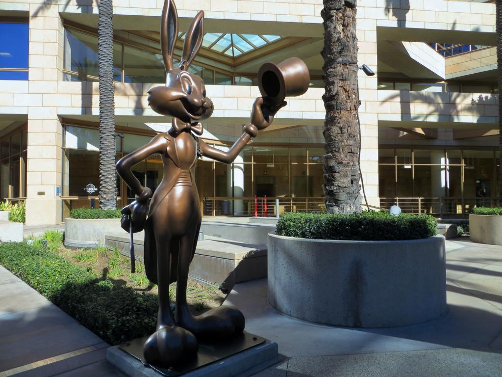 Bugs Bunny ist in L.A. omnipräsent - natürlich auch in den Warner Bros. Studios.