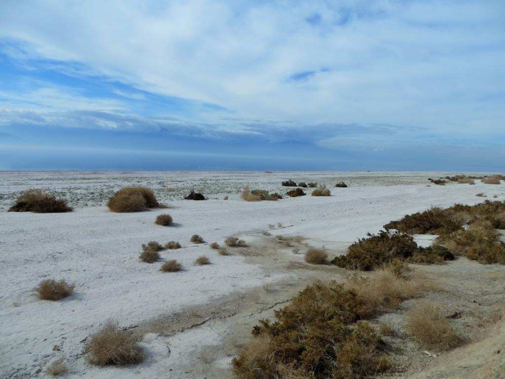 Der Salton Sea in Kalifornien.