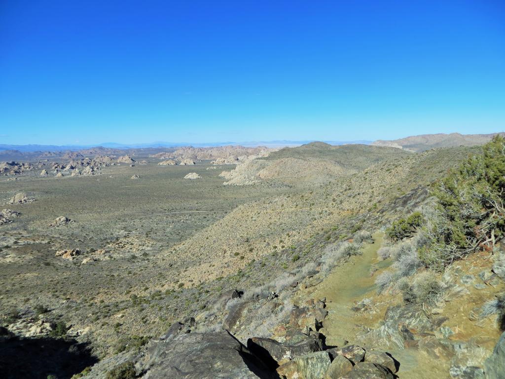 Ein Aufstieg auf den Ryan Mountain mit herrlichem Ausblick.