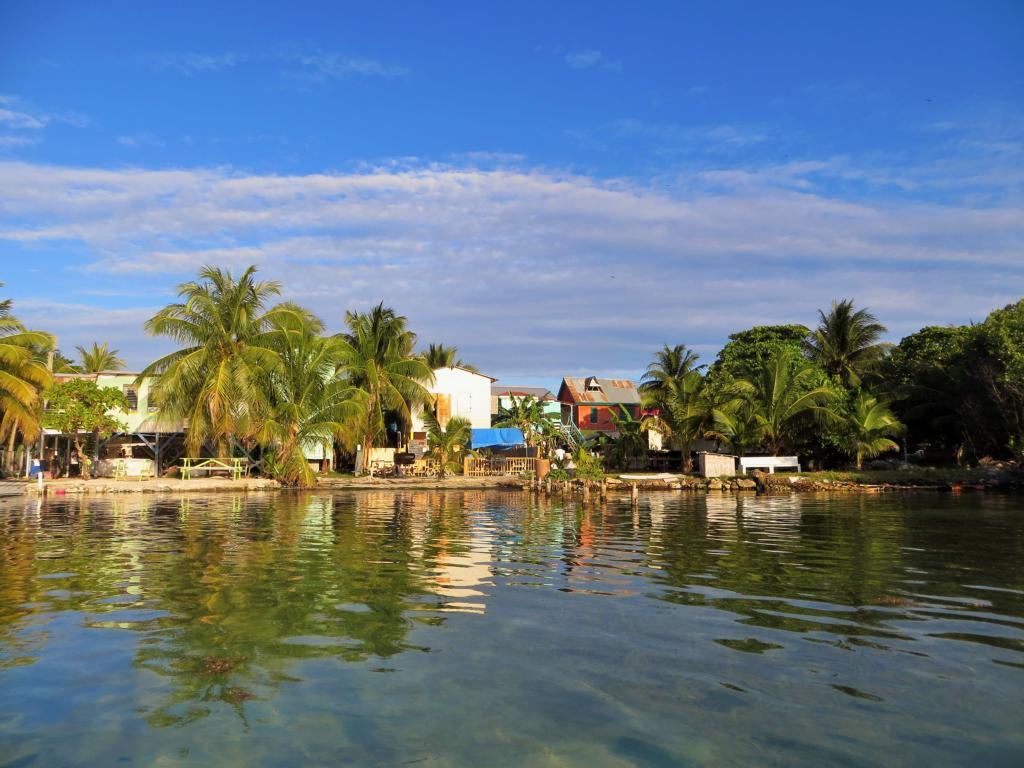 Ankunft im Paradies Caye Caulker in Belize.