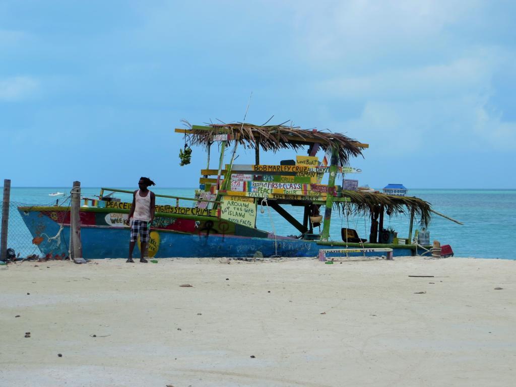 Immer wieder Reagge in Caye Caulker in Belize.
