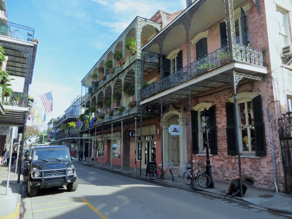 Beeindruckende Architektur in New Orleans