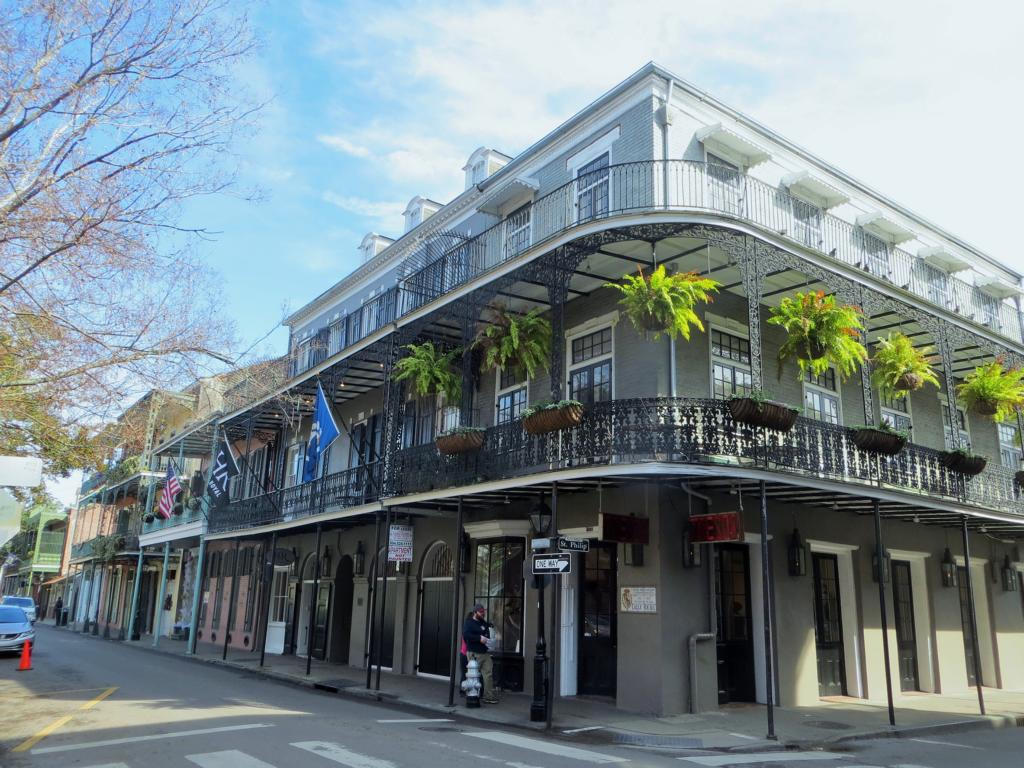 Strassenecke in New Orleans