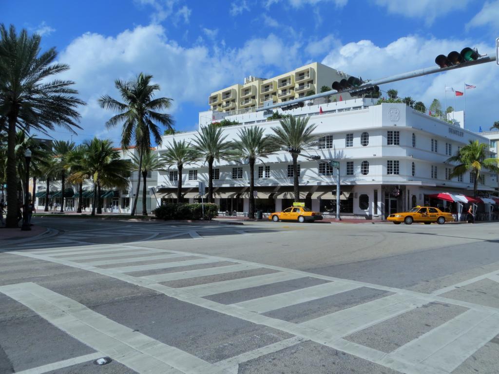 Art Deco - Der Baustil beherrscht Miami.
