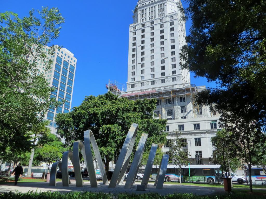 Architectur im Art Deco Stil in Miami.
