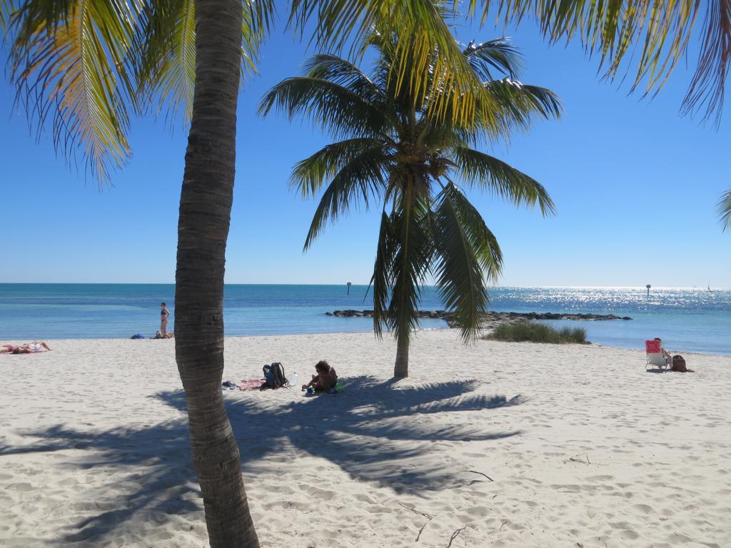 So schön ist das Strandleben auf Key West.