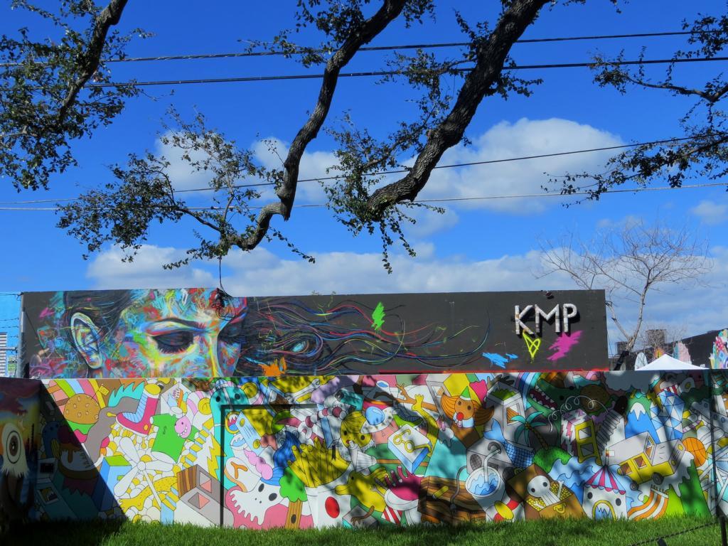 So viele wundervolle Streetart in Wynwood, Miami.