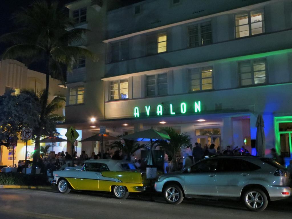 Am Ocean Drive in Miami.
