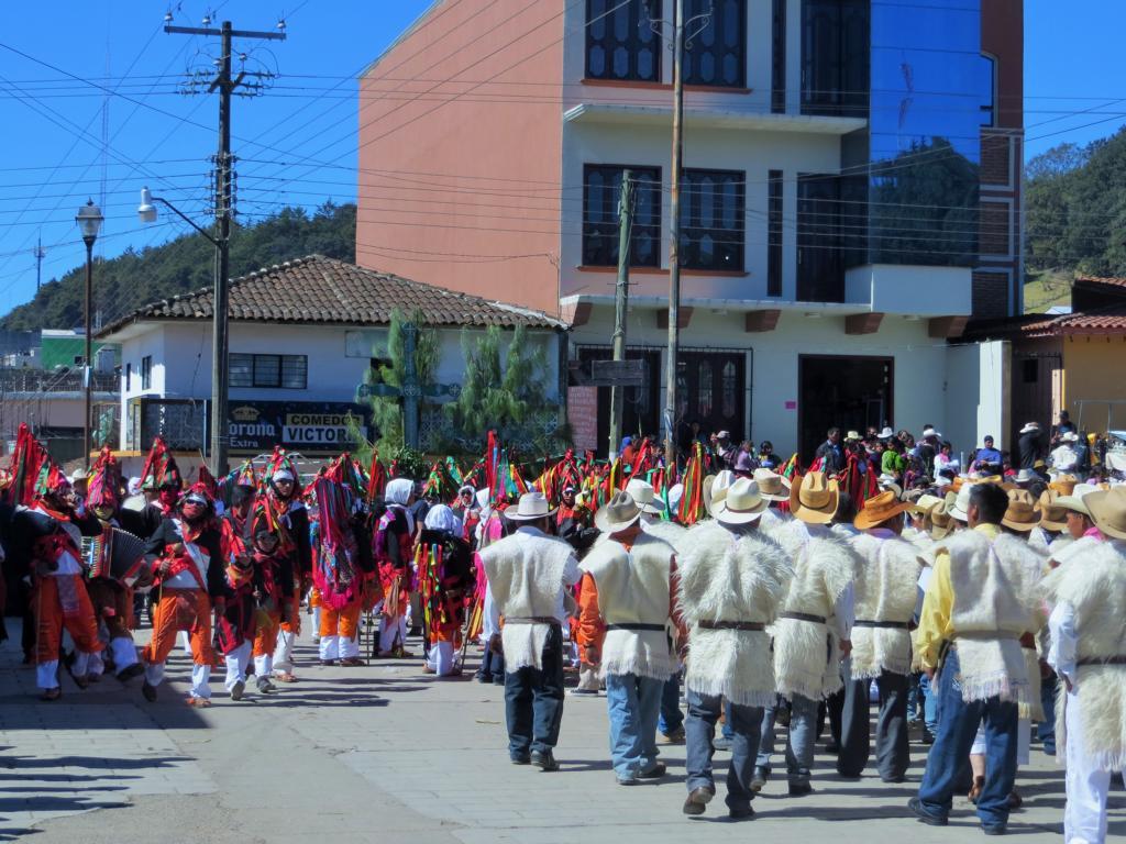 Der Maya Karneval in Jamula, Nähe San Juan de las Casas in Mexiko.
