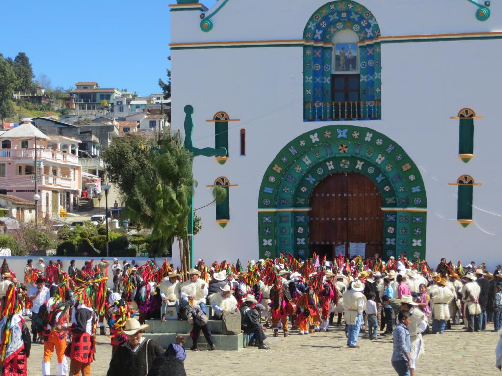 Der Maya Karneval in Jamula.