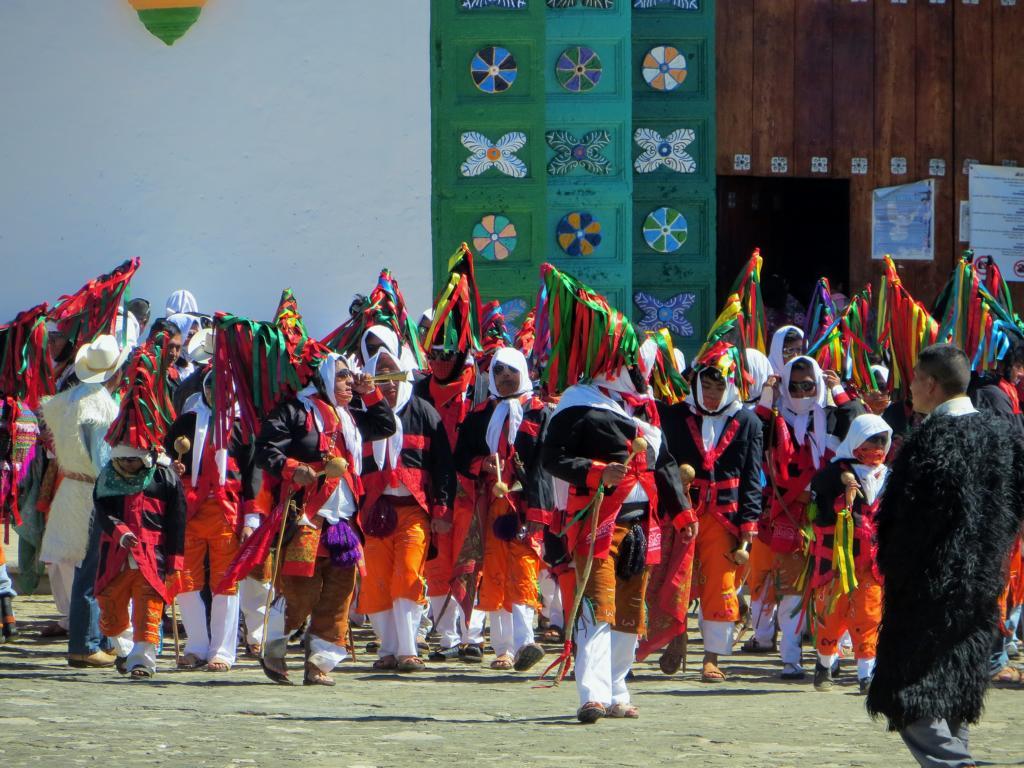 Der Maya Karneval in Jamula, Mexiko.