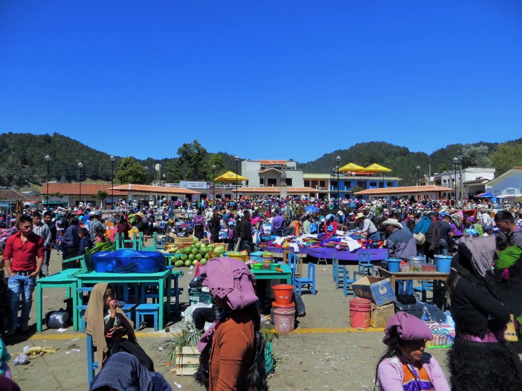 Jamula hat einen grossen Markt.