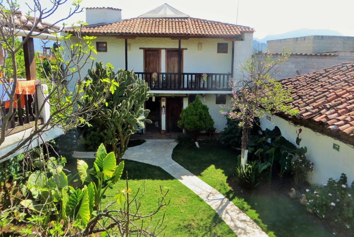 Das Rossco Backpackers in San Cristobal de las Casas besitzt ein schönes Anwesen.