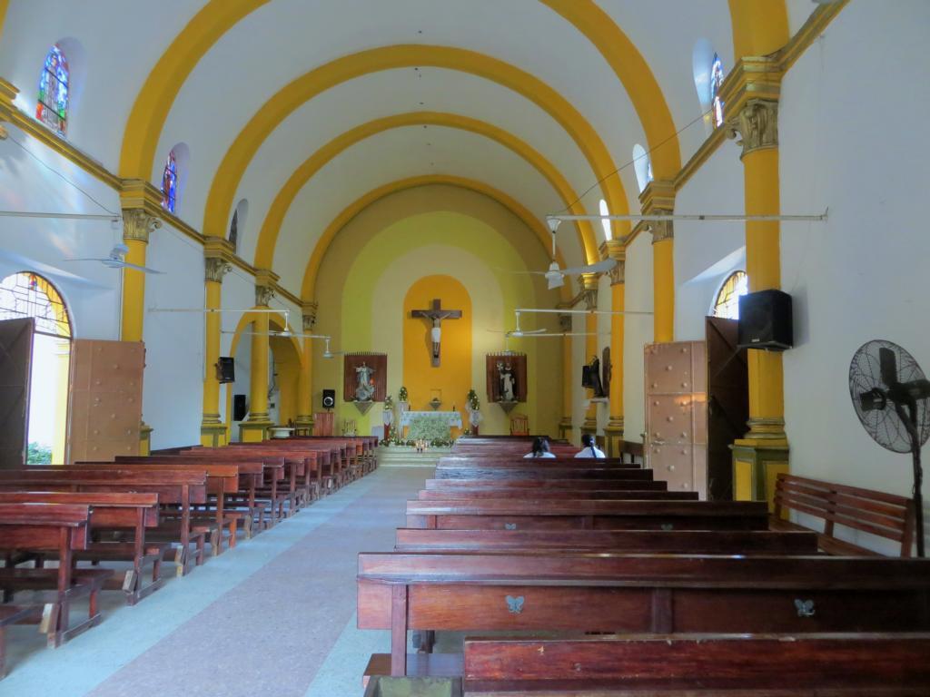 Die Kirche von Palenque in Mexiko.