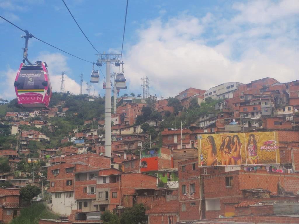 Medellin, ein Must See einer Kolumbienreise.