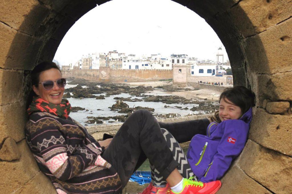 Eva in Essaouira in Marokko. Bild: Eva von Hidden Gem.