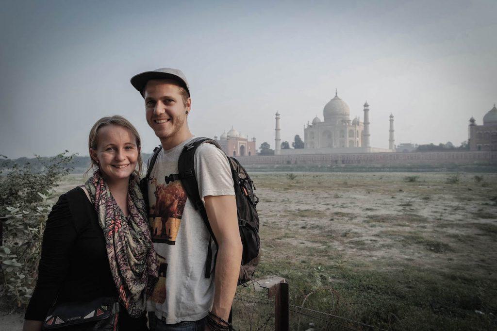 Vale und Tobi unterwegs. Bild: Globetourists.