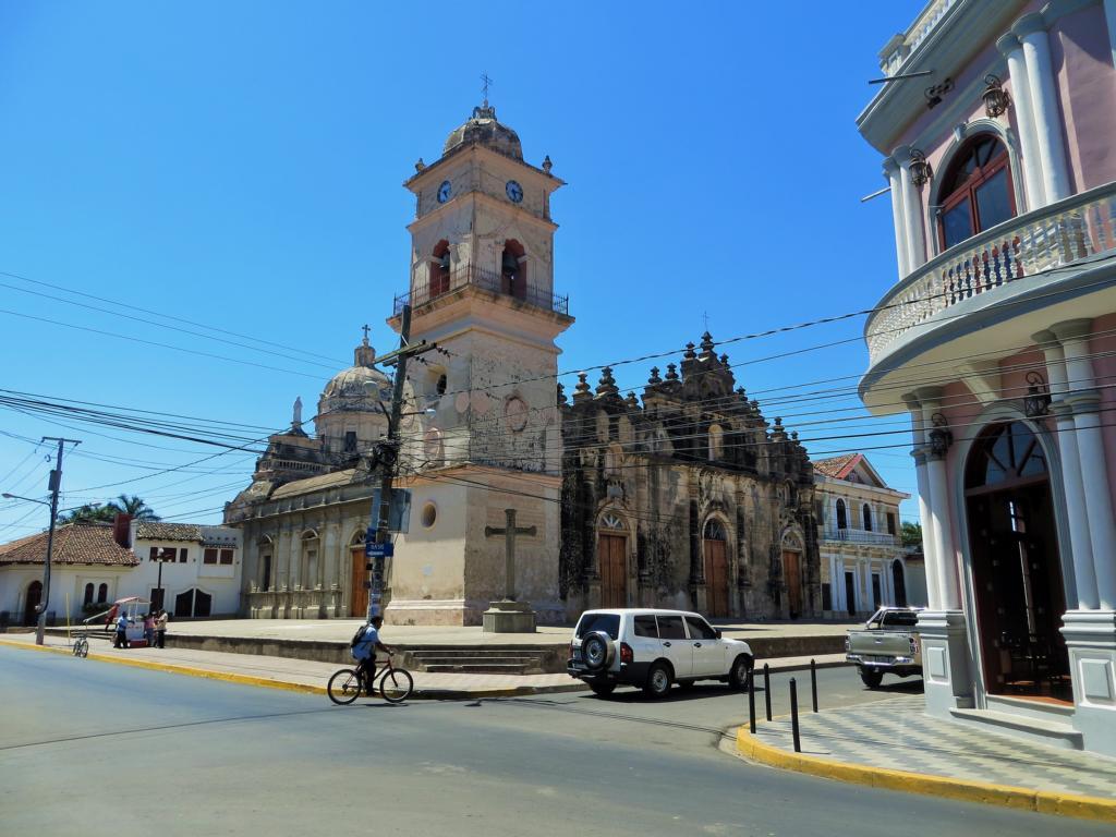 Die Kirche La Merced in Granada.