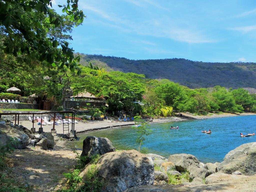 Ein Ausflug zur Laguna Apoyo bietet sich in Granada an.