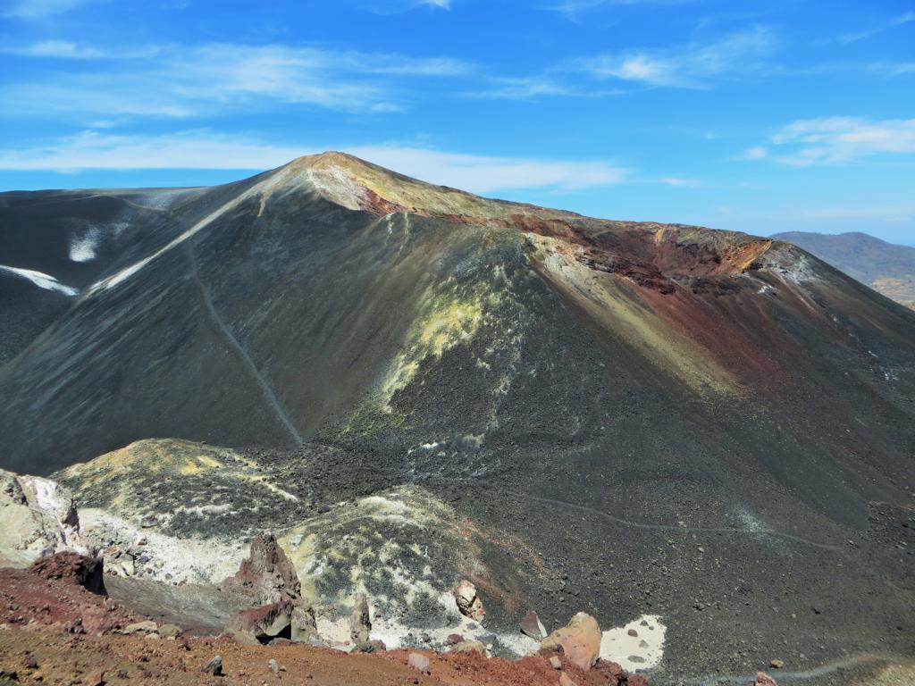 Der Aufstieg auf den Cerro Negro in Nicaragua.