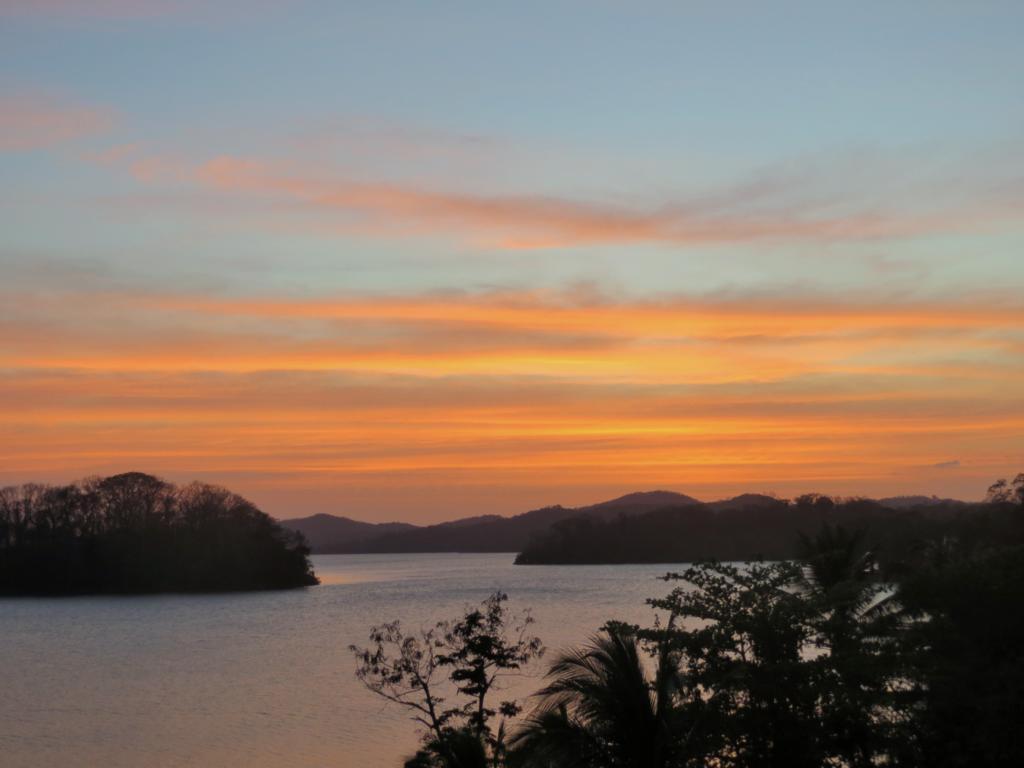 Abendstimmung auf den Solentiname Inseln in Nicaragua.
