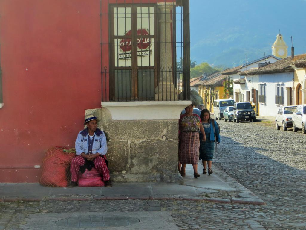 In Antigua sind die Menschen ganz besonders freundlich.
