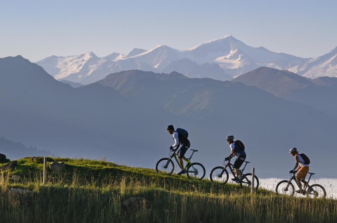Mountainbike Tour in Tirol. Foto: ©Norbert Eisele Hein