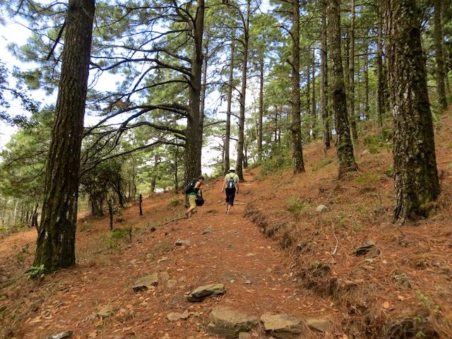 Wandern in Estelí.