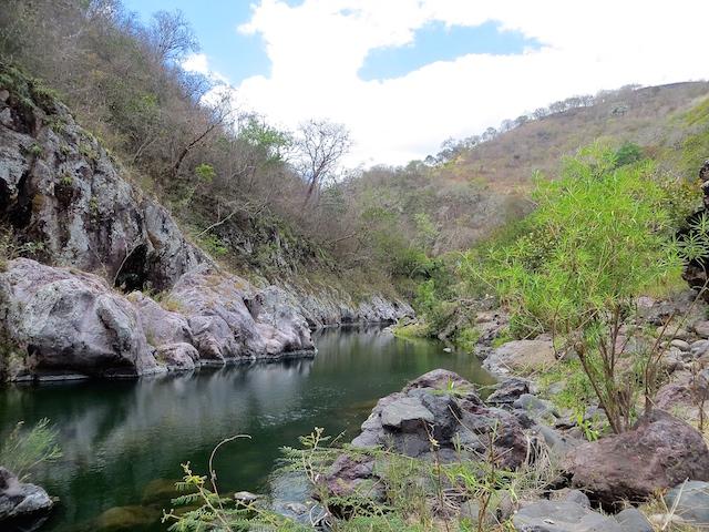 Der Somoto Canyon im Norden Nicaraguas.