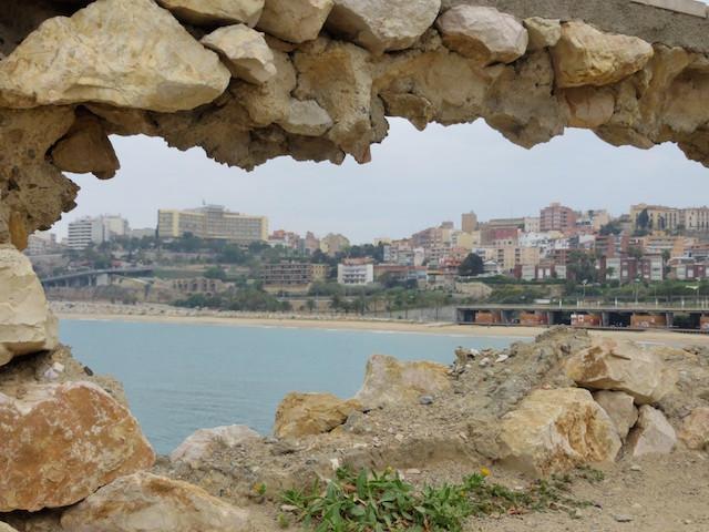 Wunderschöner Blick auf Tarragona - Aussichtspunkt mit dem E-Bike bequem zu erreichen!