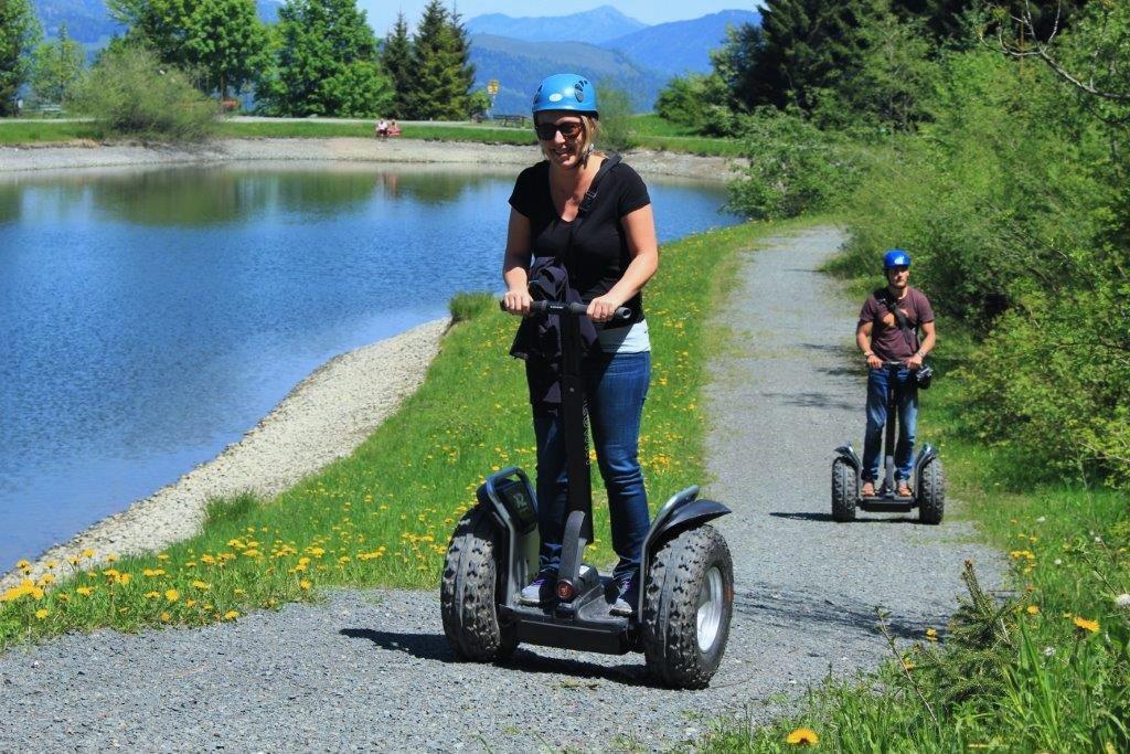 Wer unsicher ist, kommt leicht verkrampft daher... ;-) Foto: Martina Jamnig, Österreich Tourismus.