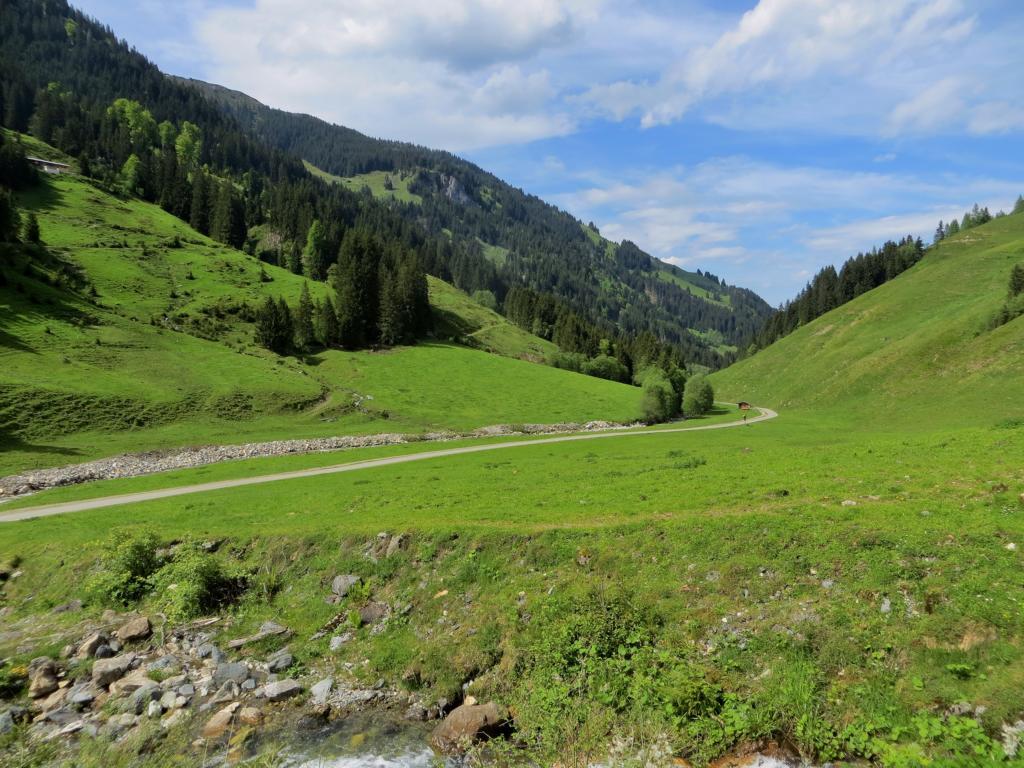 Die Kitzbüheler Alpen bieten wunderschöne Wanderrouten....