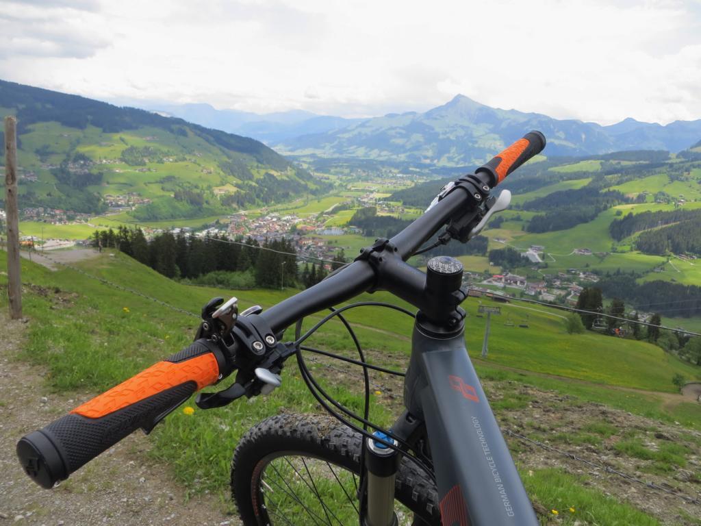 Wunderschöne Aussicht vom Gaisberg.