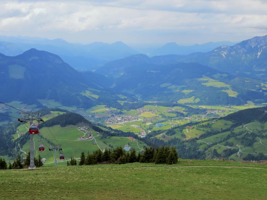 ...wie auf die Hohe Salve, mit einer 360° Sicht über Tirol.