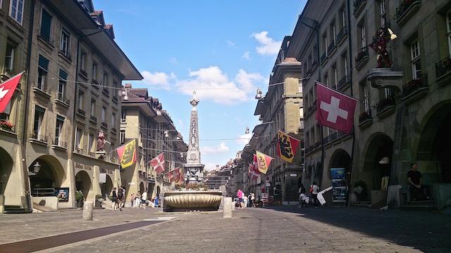 Die Altstadt von Bern, Kulturerbe der UNESCO.