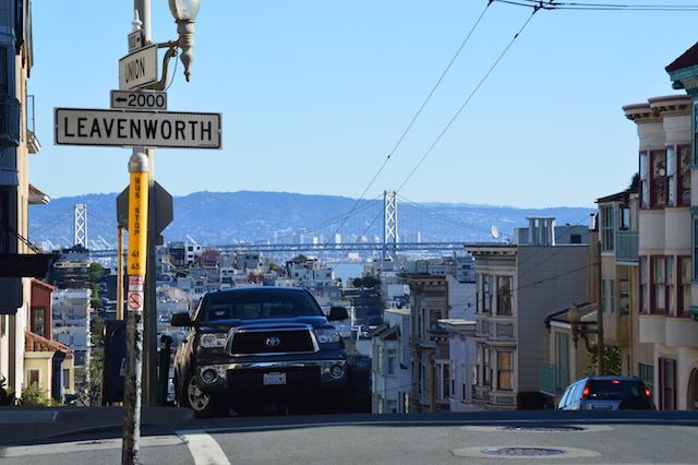 San Francisco, ein der schönsten Städte der USA.