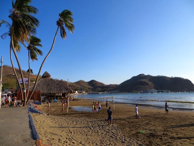 Der Strand von San Juan del Sur.