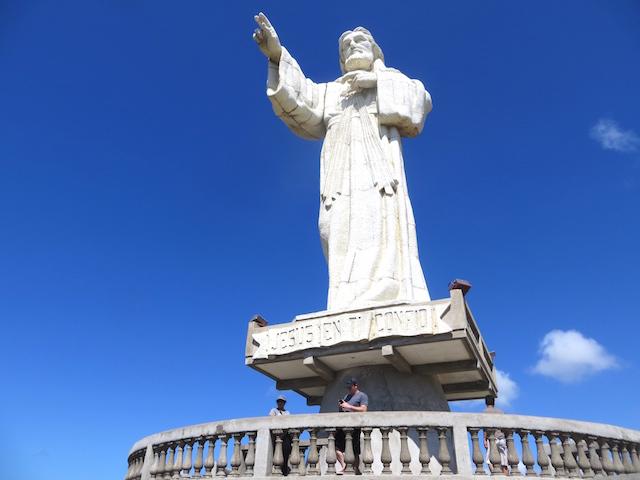 Die Jesus Statue in San Juan del Sur.