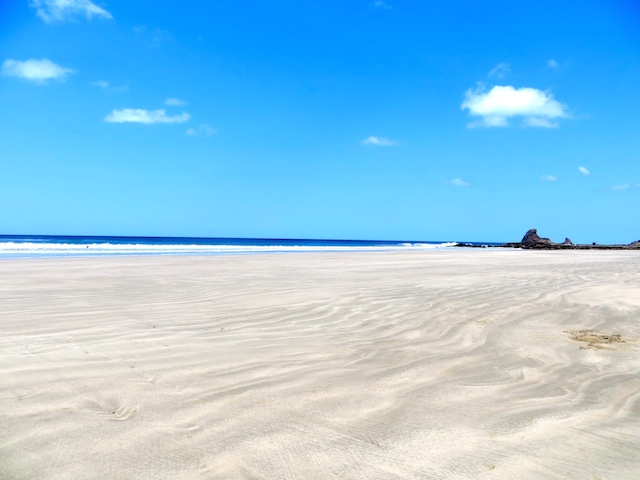 Playa Maderas, ein wundervoller Strand.