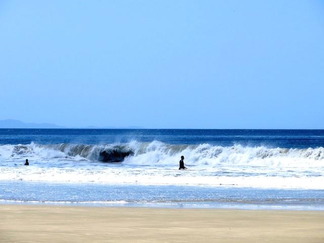 ...ist die Playa Maderas vor allem bei Surfern beliebt.