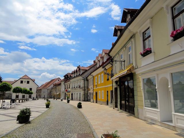Kamnik, ein hübsches Städtchen in Slowenien.