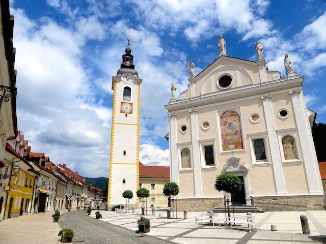 Kamnik besitzt einen sehr schönen Stadtkern.